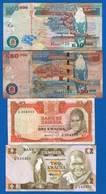 Zambie  4  Billets - Zambie