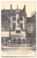 CPA 21 - SAINT JEAN DE LOSNE(Côte D'Or) -  Place De La Délibération - Monument Commémoratif Du Siège De 1636 - France