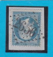 N° 22  GC  2656   NICE / 87 - ALPES-MARITIMES   - REF 14116 - 1862 Napoleon III