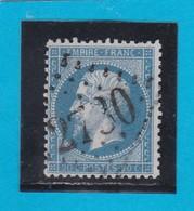 N° 22  GC  2730   ORANGE  / 86 - VAUCLUSE   - REF 14116 - 1862 Napoleon III