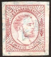 ~~~ Spain Carlista 1874 - Carlos VII - Ed. 159 A Type II Used (o)  ~~~ - Carlisten