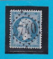 N° 22  GC  2740   ORLEANS  / 43 - LOIRET   - REF 14116 - 1862 Napoleon III