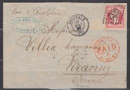LAC N24 GC532 Bordeaux-Vera Cruz 29/05/67 - 1862 Napoleon III