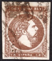 ~~~ Spain Carlista 1874 - Carlos VII - Ed. 161 Used (o)  ~~~ - Carlisten