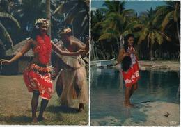 TAHITI  LOT DE 9 CARTES  VOIR LES SCANS - Tahiti