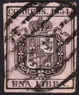 ~~~ Spain 1854 - Service Official - Ed. 31 Used (o) - CV 112 Euro ~~~ - Dienst