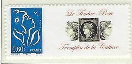 """FR Personnalisés YT 3966A """" Marianne Lamouche 0.60€  Adhésif """" 2006 Neuf** - France"""