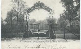 Péruwelz - Parc Edouard Simon - La Porte Monumentale - 1903 - Péruwelz