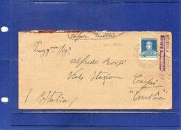 "##(DAN195)-Darsena Norte-Buenos Aires 1930 - Cover To Carpi - Italy - By  ""Duilio"" Ship - Argentina"