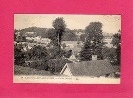 80 Somme, SAINT-VALERY-SUR-SOMME, Vue Du Château, 1919, (L. L.) - Saint Valery Sur Somme
