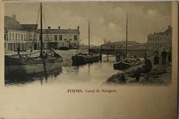 Veurne - Furnes // Canal De Nieuport (animee) Ca 1900 - Veurne