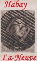RéfP. 122 - Belgique - 1858 - Obl. - COB 10 - 52 Habay-la-Neuve - - 1858-1862 Medallions (9/12)
