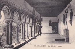 09 - Le Cloître Roman De SAINT LIZIER - A Voir 2 Scans - Eglises Et Couvents