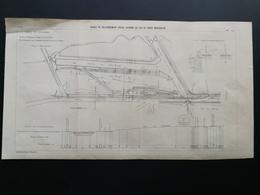 ANNALES DES PONTS Et CHAUSSEES - Plan Des Gares De Raccordement Entre Chemins De Fer Et Voies Navigables - 1903 (CLD73) - Machines