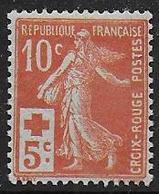France N° 147 * -  Cote : 40 € - Ongebruikt