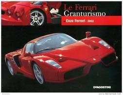 ROBERTO BONETTO FERRARI MONOGRAFIA DEAGOSTINI ENZO FERRARI 2002 - Motori