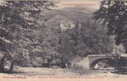 09 - Environs Des CABANNES, L'Ariège Et Le Château De GARANOU - A Voir 2 Scans - France