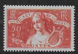 France N° 308 * -  Cote : 65 € - Neufs