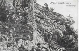 AK 0217  Hohe Wand - Springelsteig / Verlag Ledermann Um 1910 - Neunkirchen