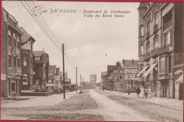 De Panne La Panne Boulevard De Dunkerque Villa Du Mont Blanc (In Zeer Goede Staat) - De Panne
