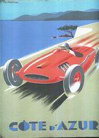 TARGA IN METALLO GP COTE D'AZUR 30X25 F1 GP AUTOMOBILISMO MOTORSPORT - Cars