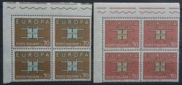 ITALIA EUROPA UNITA Serie.Completta .2V.MNH**(PAG.76/6 - Europa-CEPT