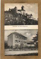 CPA - SAINT-HIPPOLYTE (68) - Aspect Du Restaurant Du Parc Du Début Du Siècle - Carte Multi-vues - Autres Communes