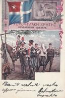 Cartolina  - Postcard /   Viaggiata -   Sent /  Gendarmeria Cretese. - Régiments