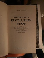 Histoire De La Revolution RUSSE En 2 Tomes - Histoire