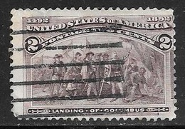 1893 2 Cents Columbian, Used - Used Stamps