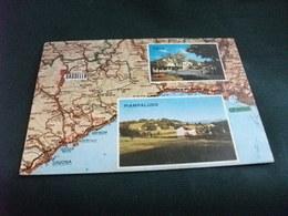 Carta Geografica Sassello IMMAGINI PIAMPALUDO E PALO SAVONA LIGURIA - Carte Geografiche