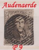 RéfP. 165 - Belgique - 1849-50 - Obl. - COB 3  - P 9 Audenaerde  - - 1849-1850 Medallones (3/5)