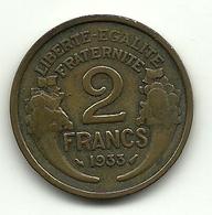 1933 - Francia 2 Francs - I. 2 Franchi