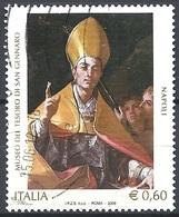 Italia, 2009 San Gennaro 0.60 € # Sassone 3116 - Michel 3325 - Scott 2957 USATO - 6. 1946-.. República