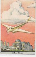 Carte Pubbl. Air France Sur  Carte De Voeux Argentine - 1934    (190416) - Aviación