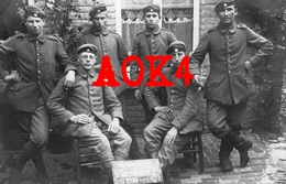 ETIKHOVE Maarkedal Duitse Bezetting 1917 Flandern Feldpost Messines Mesen 6. Bayerische Pionier Kompagnie - Maarkedal
