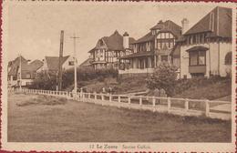 Knokke Knocke Le Zoute Sentier Gallois Villas Villa's RARE ZELDZAAM Geanimeerd (In Zeer Goede Staat) - Knokke