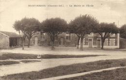 Saint Sornin -la Mairie Et L'école - France