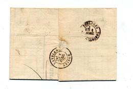 Lettre Cachet  Lassai Sur Sage +  2188 ? Comptrain - Postmark Collection (Covers)