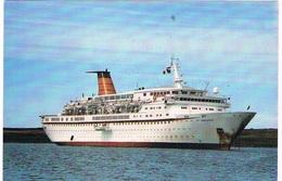 SCH-878  CUNARD COUNTESS ( Cunard Lines) - Paquebots