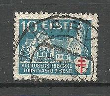 ESTLAND ESTONIA 1933 Michel 103 O NARVA Gut Gestempelt - Estland