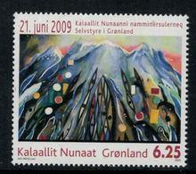 Groenland 2009 // Statut D'autonomie élargie Au Groenland Neuf ** MNH No.519 Y&T - Groenland