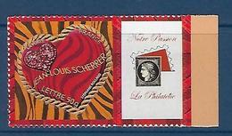 "FR Personnalisés YT 3864A "" Coeurs De Scherrer Adhésif "" 2006 Neuf** - France"