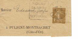 DAGUIN NOLAY SUR BANDE JOURNAL  J6 - Postmark Collection (Covers)