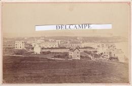 SAINT ÉNOGAT DINARD 1881 - Photo Originale Des Villas Face à La Mer ( Ille Et Vilaine ) - Lieux