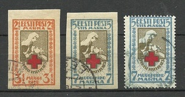 Estland Estonia 1921/22 Michel 29 - 30 B & 30 A O - Estonia