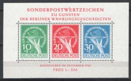 Germania Berlino 1949 Unif. BF1 **/MNH VF - Ungebraucht