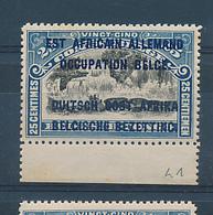 RUANDA URUNDI GEA  1916 ISSUE COB 31 TYPE B MNH - Ruanda-Urundi