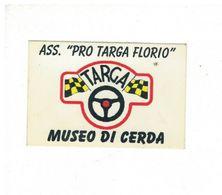 ADESIVO STICKER MUSEO TARGA CERDA RRR - Adesivi