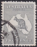 Australia    .   SG  .    3    .    O      .    Cancelled    .   /    .   Gebruikt - 1913-48 Kangaroos